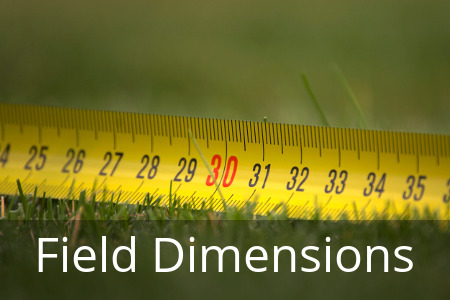 Field Layout Dimensions