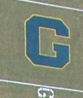 Collegiate End Zone Letter Stencil (22' tall)