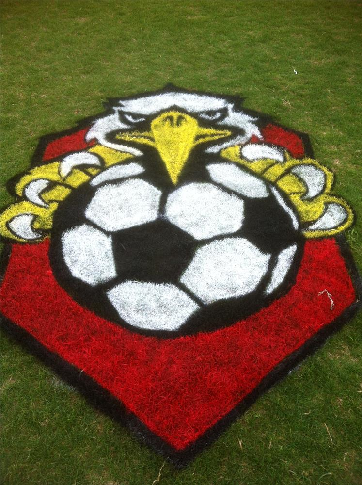Soccer Field Stencils | Custom Made