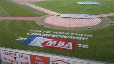 MN Baseball Logo Painting